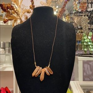 Vintage Aura Crystal Necklace